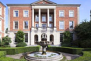 Harris Manchester College, Oxford - The Farmington Building is the base for the Farmington Institute for Christian Studies