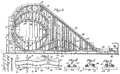 Harry G. Traver Cyclone roller coaster patent.png
