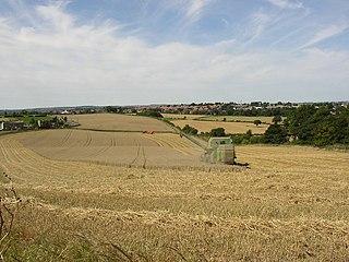 Beggarington hamlet in Kirklees, West Yorkshire, England