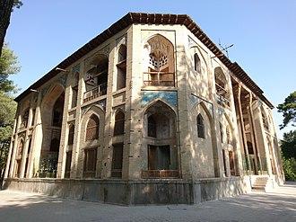 Hasht Behesht - Hasht-Behesht, North-Western View