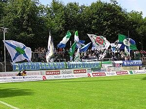 Heidewaldstadion - Image: Heidewald 02 Guetersloh