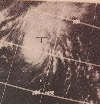 1969 Pacific typhoon season - Image: Helen Oct 1119690432z ESSA9