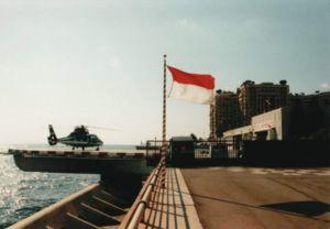 Monaco Heliport - Image: Heliport Monaco 2