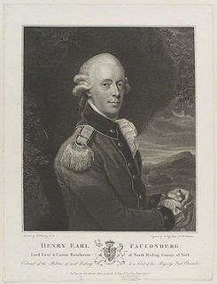 Henry Belasyse, 2nd Earl Fauconberg British politician