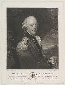 Henry belasyse, 2nd earl of fauconberg