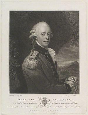 Henry Belasyse, 2nd Earl Fauconberg - Image: Henry Belasyse, 2nd Earl of Fauconberg