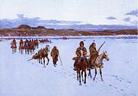 Henry Farney Departure For The Buffalo Hunt.jpg