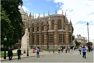 Old Palace Yard - Image: Henry VI Is chapel, Westminster Abbey (geograph 2507750)