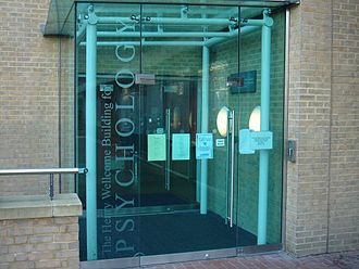 Institute of Psychiatry, Psychology and Neuroscience - Entrance to the Henry Wellcome Psychology Building