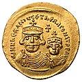Heraclius and Heraclius Constantine solidus.jpg
