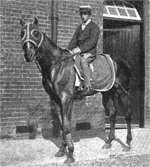 Diamond Jubilee (horse) - Diamond Jubilee with Herbert Jones, circa 1900