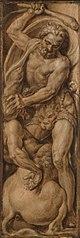 Hercules destroying the centaur Nessus