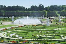 Giardini alla francese fuori la Francia[modifica