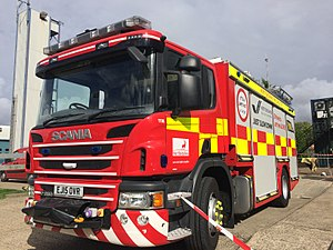 Hertfordshire Fire and Rescue Service - Image: Hertfordshire's Rescue Support Unit