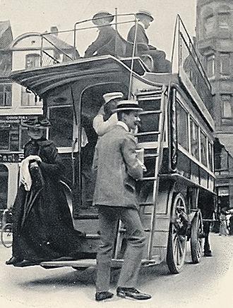 Horsebus - Horsebus in Copenhagen, 1907