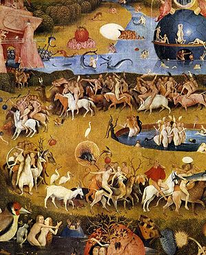Hieronymus Bosch, Garden of Earthly Delights tryptich, centre panel - detail 3.JPG