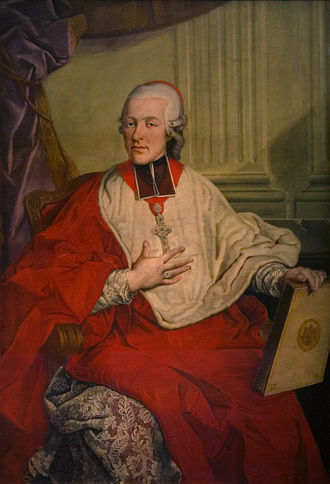 Mozart's nationality - Hieronymus von Colloredo, the last archbishop to exercise temporary power in Salzburg