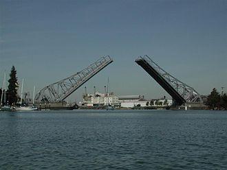 Oakland Estuary - High Street Bridge
