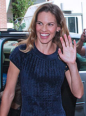 Hilary Swank, the lead actress of the film, in 2010