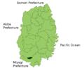 Hiraizumi in Iwate Prefecture.png