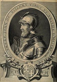 Jean de Villiers (Grand Master) Grand Master of the Knights Hospitaller