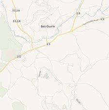Serie de mapas históricos para el área de Bayt Jibrin (moderno) .jpg