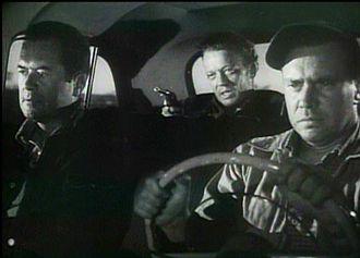 The Hitch-Hiker - Frank Lovejoy, William Talman and Edmond O'Brien