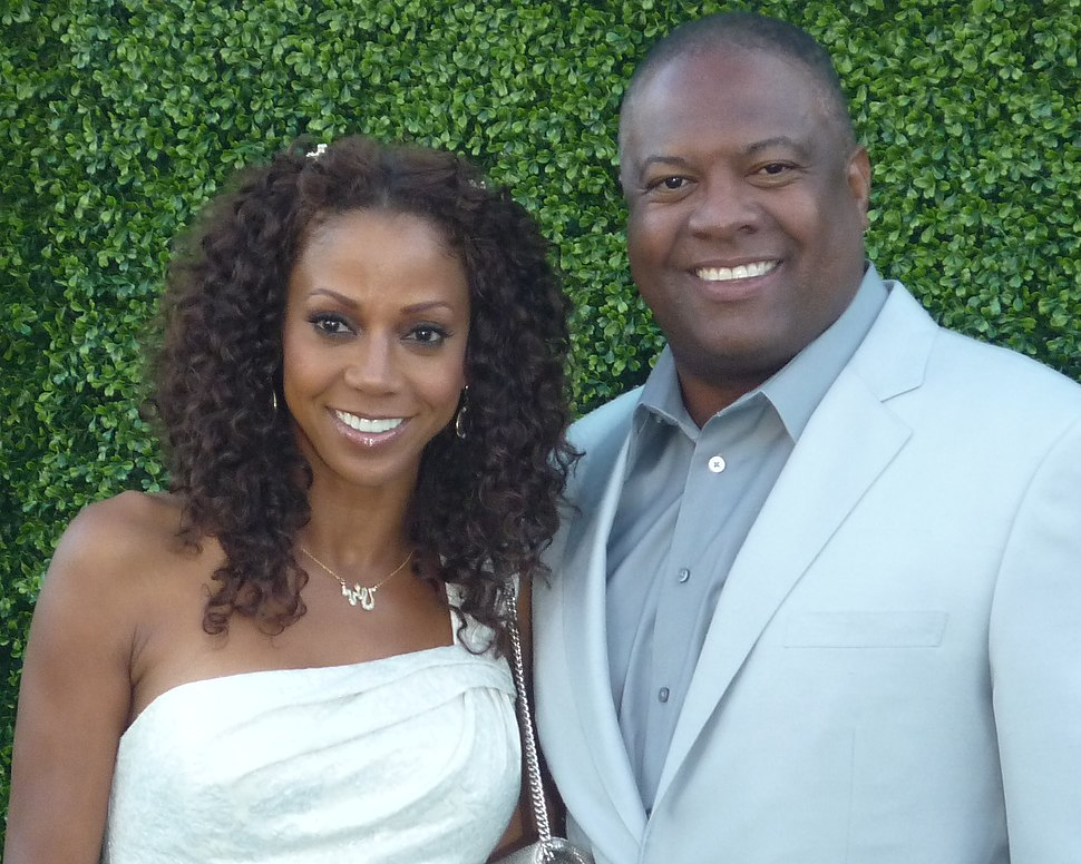Holly Robinson Peete and Rodney Peete in July 2010