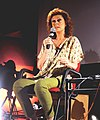 Hollywood Actress Susan Sarandon addressing the film critics in the Master Class, at the 44th International Film Festival of India (IFFI-2013), in Panaji, Goa on November 22, 2013.jpg