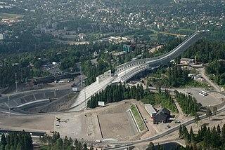 Holmenkollen National Arena ski and biathlon venue