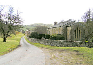 Holy Trinity Church, Howgill Church in Cumbria, England