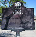 Holy Trinity Episcopal Church (Melbourne, Florida) Historical Marker.jpg