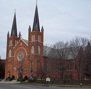 Holy Angels Church (Buffalo, New York) - Image: Holy angels church