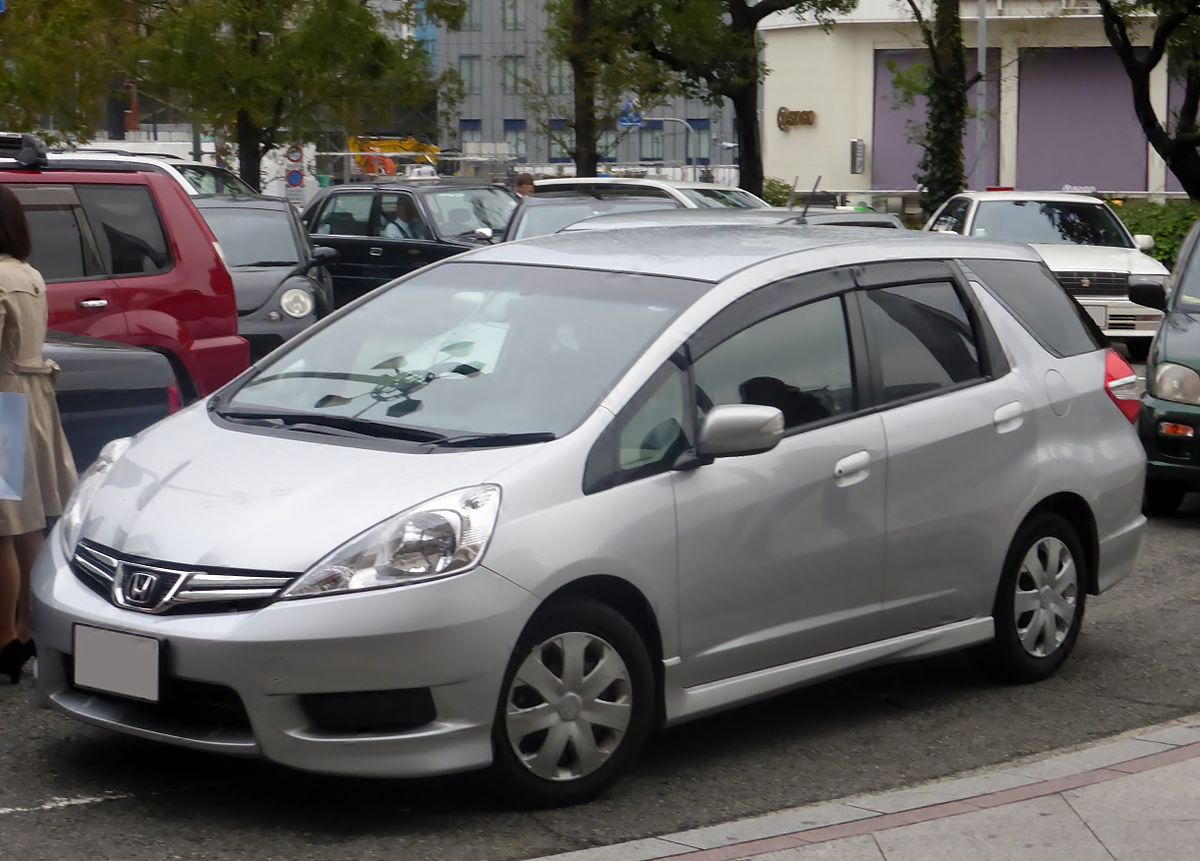 Honda Fit Shuttle Wikipedia - Wiring diagram honda l15a