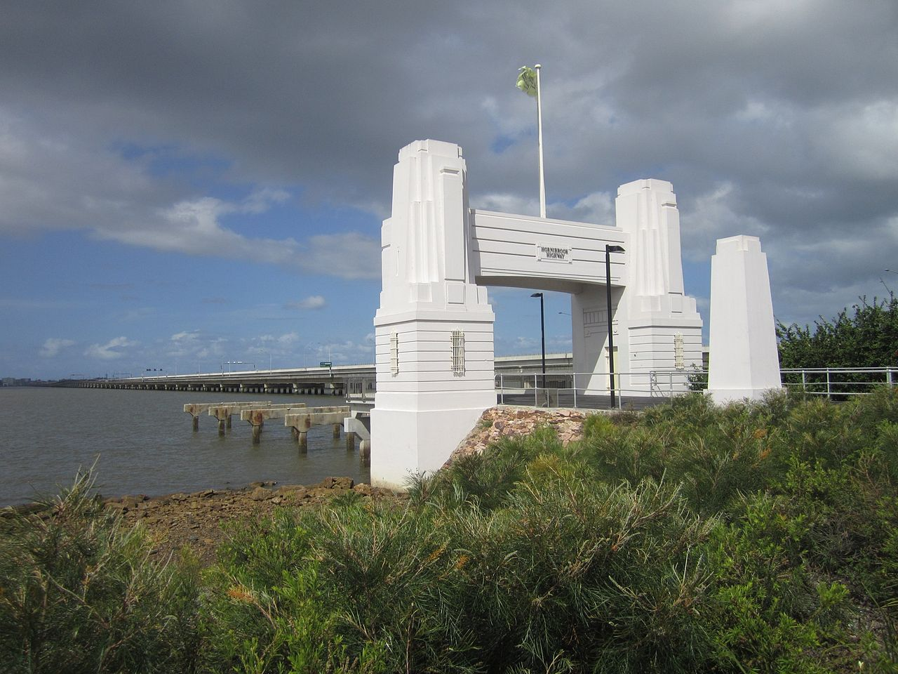 Hornibrook Highway Bridge Southern Portal