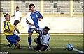 Hossein Kazemi vs Actors Football Team, 26 August 2005.jpg