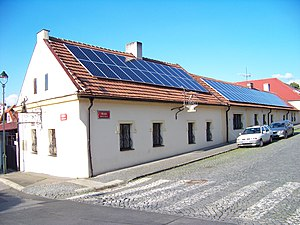 Solar power in the Czech Republic - Solar panels in Prague