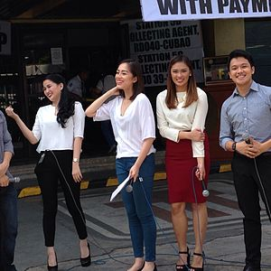 Good Morning Pilipinas - Hosts of Good Morning Boss (from R) Sandro Hermoso, Diane Medina, Carla Lizardo, Karla Paderna and Jules Guiang