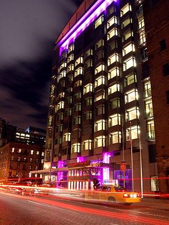 Ninth Avenue (Manhattan) - Image: Hotel Gansevoort 3038707280 82622cfb 53