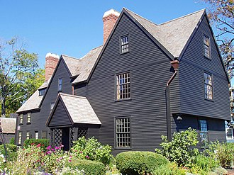 William Hathorne - Image: House of the Seven Gables (front angle) Salem, Massachusetts