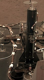 Heat Flow and Physical Properties Package Scientific instrument of the InSight Mars lander