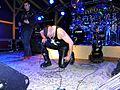 Hudební skupina Ortel, koncert v Runway Club, 26. 9. 2015, 10, Karel Vávra a klečící Tomáš Ortel.jpg