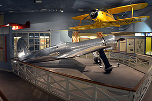 Hughes H-1 Racer - The H-1 Racer at the National Air and Space Museum