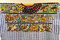 Huipil, Tz'utujil Maya, Santiago Atitlan, view 2, late 20th century, cotton and synthetic - Textile Museum of Canada - DSC01232.JPG