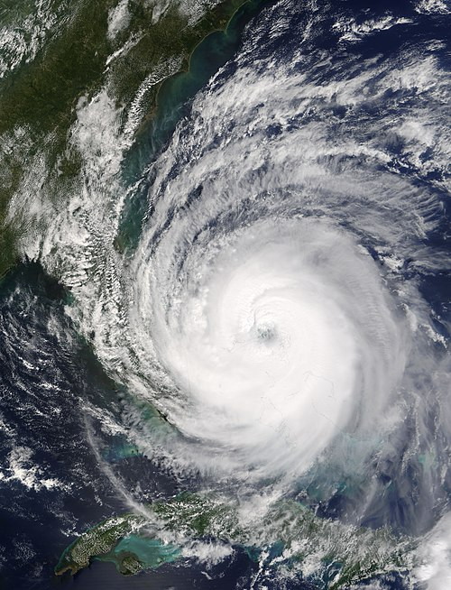Hurricane Jeanne approaching Florida on September 25 Hurricane Jeanne 25 sept 1615Z full.jpg