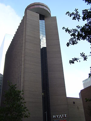 Hyatt Regency Houston - Image: Hyatt Houston TX