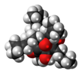 Hyperforin molecule spacefill.png
