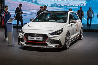2018 Paris Motor Show - Hyundai i30 N Option