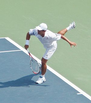 Lee Hyung-taik - Lee at the 2007 US Open