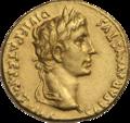 INC-1577-a Ауреус Октавиан Август от 2-1 гг. до н.э. (аверс).png